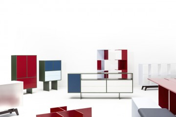 collection of aluminium furniture